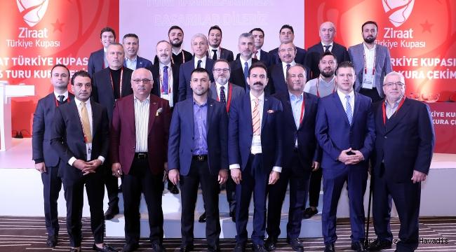 Ziraat Türkiye Kupası 16 Tur kurası çekildi