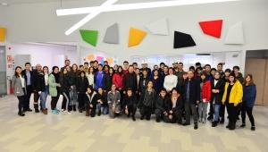Bahçeşehir Koleji Öğrencileri Erdemir'deydi
