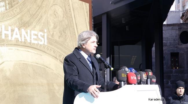 Bakan Yardımcısı Demircan Kütüphane Açılışına Katıldı