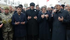Bakan Yardımcısı Misbah Demircan Şehit Cenazesine Katıldı.
