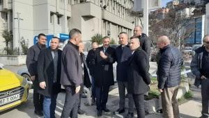 Başkan Alan Gazipaşa'da incelemelerde bulundu.