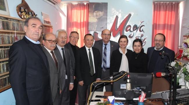 Başkan Köse'den Gazeteciler Gününde Anlamlı Ziyaret