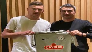 Çaykur Rizespor Ukraynalı oyuncuyu renklerine bağladı
