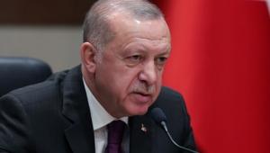 Cumhurbaşkanı Erdoğan Cezayir'e hareketinden önce basın toplantısında konuştu