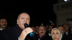 Cumhurbaşkanı Erdoğan, Malatya'nın Doğanyol ilçesinde incelemelerde bulundu