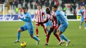 Demir Grup Sivasspor 1- 1 Çaykur Rizespor