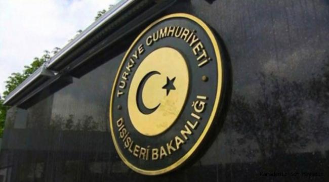 Dışişleri Bakanlığı Türkiye AA ofisine yapılan baskını kınadı
