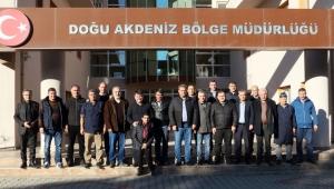 GMİS, MTA BÖLGELERİNİ ZİYARET ETTİ
