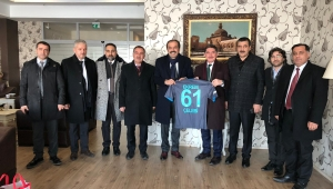 Milletvekili Balta,Ağrı Belediye Başkanı Sayan'ı ziyaret etti