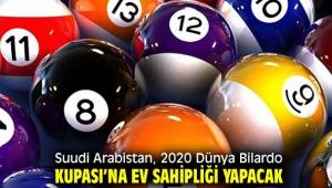 Suudi Arabistan, 2020 Dünya Bilardo Kupası'na ev sahipliği yapacak