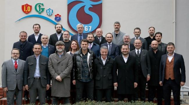Trabzonspor yönetimi teknik heyetle bir araya geldi
