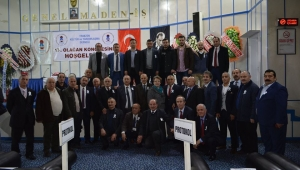 Zonguldak'da Trabzonlular Bayrak dedi.