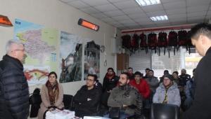 12'nci grup gönüllü itfaiyeci kursları başladı