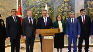 AK Parti Genel Başkan Yardımcısı Hayati Yazıcı, Gaziantep'te ziyaretlerde bulundu