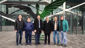 AK Parti Genel Başkan Yardımcısı Yavuz, Sakarya Gençlik ve Spor İl Müdürlüğüne bağlı tesislerde incelemelerde bulundu