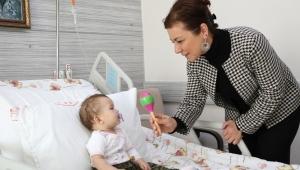 Başkan Elif Köse'den Hastane Ziyareti
