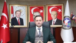 Başkan Yanmaz'dan taziye mesajı
