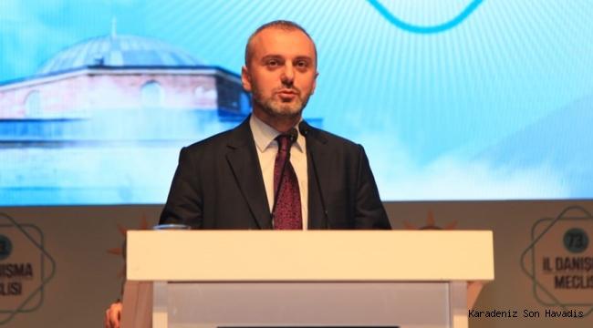 Erkan Kandemir ''AK Parti sadece Türkiye'de değil dünyada umut olmuş bir siyasi harekettir''