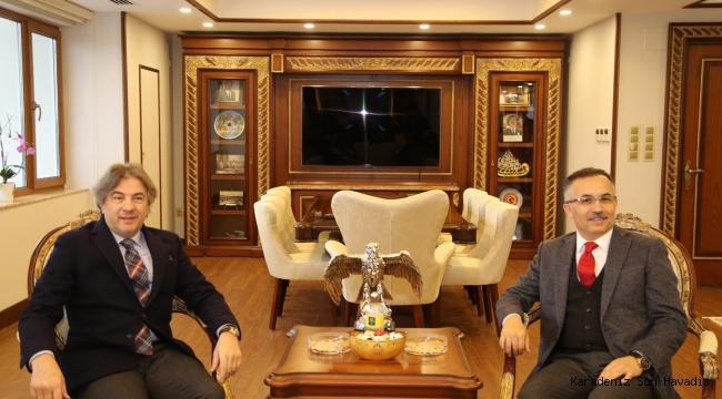 Kültür ve Turizm Bakan Yardımcısı Ahmet Misbah Demircan,Rize Valiliği'ni ziyaret etti.