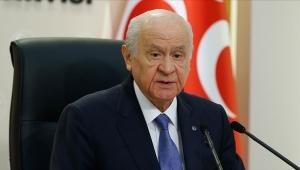 MHP Genel Devlet Bahçeli '' Mescid-i Aksa Miraç Mucizesinin kutlu yadigârıdır''