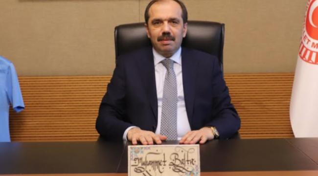 Milletvekili Balta' dan, Vakfıkebir'in düşman işgalinden kurtuluşu mesajı