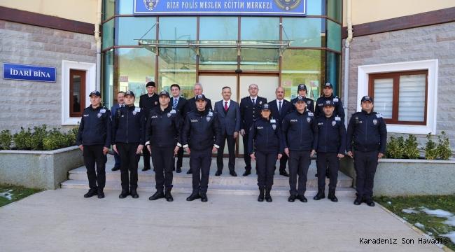 Rize Polis Mesleki Eğitim Merkezine ziyaret