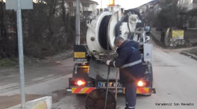Safranbolu Belediyesi Gece Gündüz Çalışıyor