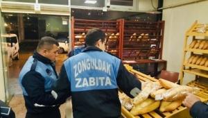 Zonguldak Belediyesi Zabıta Müdürlüğü Ekipleri Tarafından Fırınlar Denetlendi