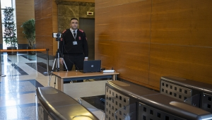 AK Parti Genel Merkezinde Termal Kamera Uygulamasına Geçildi