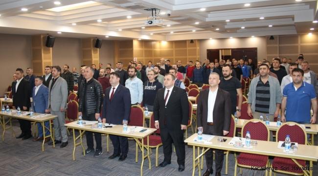 GMİS Karadon Şube Taban Eğitim Semineri yapıldı.