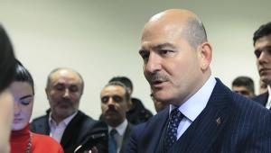 İçişleri Bakanı Süleyman Soylu, TBMM'de gazetecilerin sorularını yanıtladı.