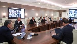 Sağlık Bakanı Fahrettin Koca, 81 İl Sağlık Müdürüyle Telekonferansla Görüştü