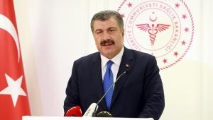 Sağlık Bakanı Koca, Türkiye'nin koronavirüsle mücadelesinde son 24 saatte yaşananlar hakkında bilgi verdi