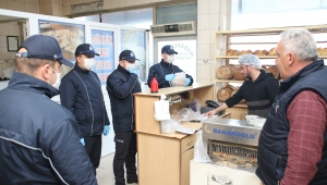 Akçakoca'da Zabıtadan Bakkal, Fırın, Market ve Ekmek Büfelerine 'Korona virüs' Denetimi