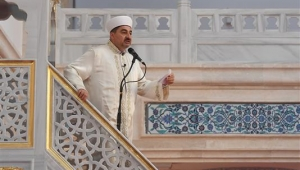 Cuma namazı Kuzey Ankara Camii'nde kılındı