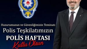 Milletvekili Günnar'dan Polis Haftası mesajı