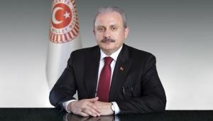 TBMM BAŞKANI ŞENTOP, MECLİS'TEKİ