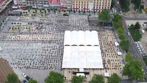 74 gün sonra cemaatle ilk 'Cuma Namazı'