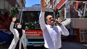 Başkan Yıldız Mahalle Mahalle Gezerek Vatandaşlarla Bayramlaştı