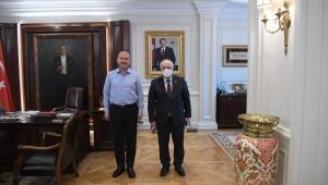 Hüseyin Özbakır'dan Bakan Soylu'ya Ziyaret