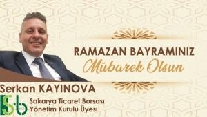 Serkan Kayınova Ramazan Bayramı Kutlama Mesajı