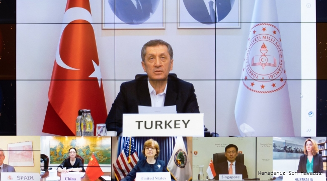 BAKAN SELÇUK, TÜRKİYE'NİN KOVİD-19 TECRÜBELERİNİ G20 ÜLKELERİNE ANLATTI