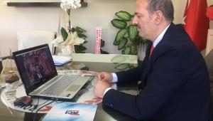 Bakan Selçuk, Zonguldak'ta öğretmenlerle online görüştü