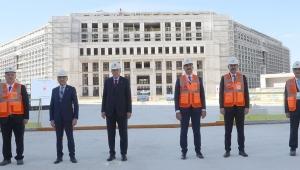 Cumhurbaşkanı Erdoğan, Yargıtay Başkanlığı yeni hizmet binasını inceledi