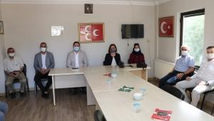 Safranbolu Belediyesi'nden İlçe Parti Teşkilatlarına ziyaret...