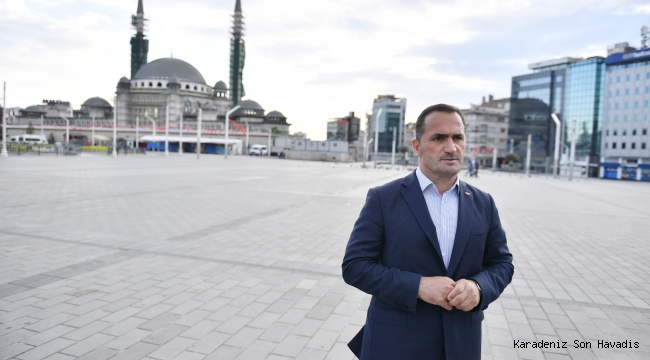 Taksim Camisi'nde Çalışmalar Yeniden Başladı
