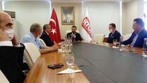 Başkan Burhan ve Basa'dan RTÜK Başkanı Şahin'e Ziyaret