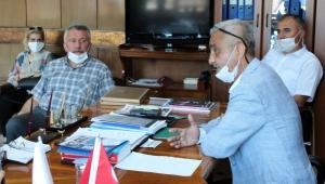 CHP'DEN GMİS'E DESTEK ZİYARETİ