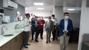 Eğitim ve Araştırma Hastanesinde Servislerin Yenilenmesi Devam Ediyor