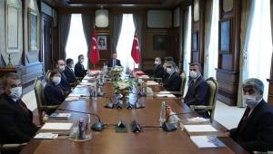 Cumhurbaşkanı Erdoğan, 100. kuruluş yılı dolayısıyla Anadolu Ajansı heyetini kabul etti